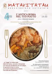 cena romana jacopone 17